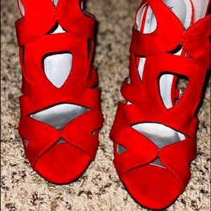 Red size 5.5 xappeal shoes